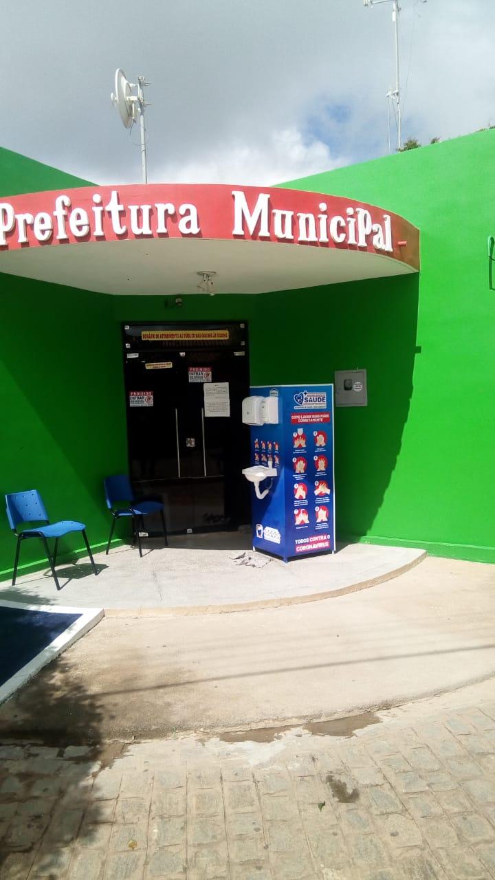 Prefeitura disponibiliza lavatórios portáteis como mais uma medida no enfrentamento ao corona vírus em Bernardino Batist