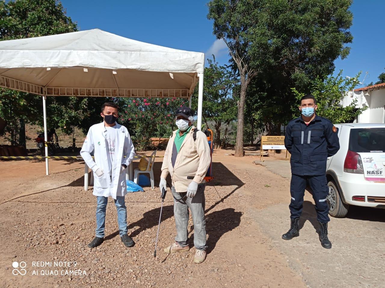 Prefeitura intensifica ações no combate a covid-19 em Bernardino Batista
