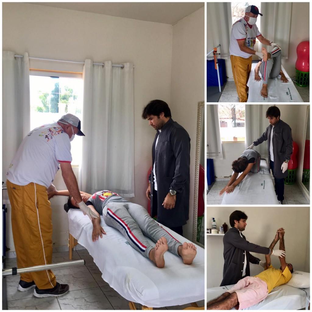 Bernardino Batista em destaque com as atividades da academia de saúde