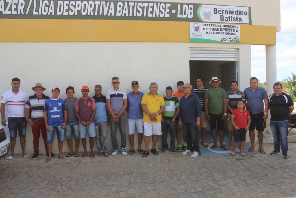 Congresso Técnico define os grupos da copa 06 de setembro em Bernardino Batista