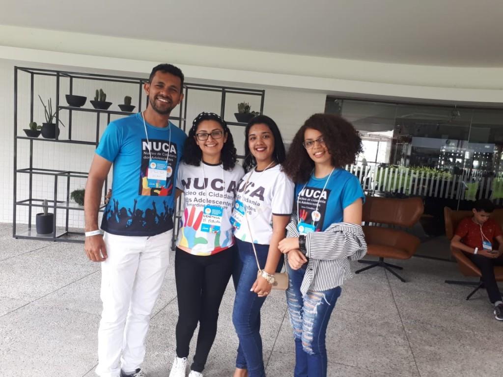 BERNARDINO BATISTA É REPRESENTADO NO I ENCONTRO DE ADOLESCENTES DA PARAÍBA EM BUSCA DO SELO UNICEF 2017/2020