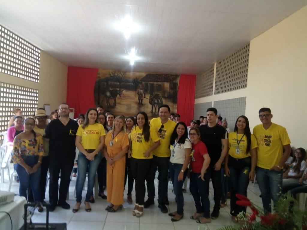 """Evento em alusão ao """"Setembro Amarelo"""" é debatido em Bernardino Batista"""