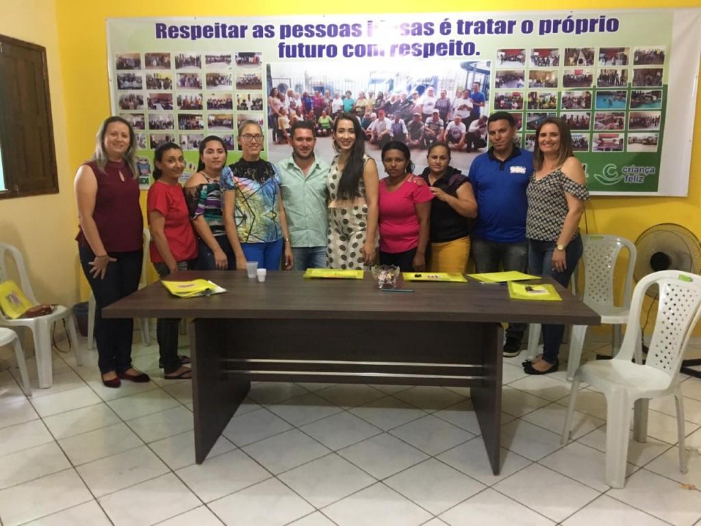 Secretaria de assistência social realiza capacitação com conselheiros tutelares do municipio no município