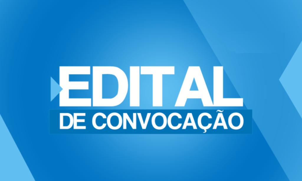 EDITAL DE CONVOCAÇÃO Nº 002/2020