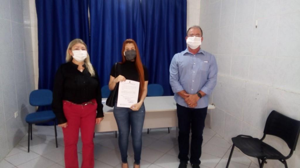 Nova gerente da atenção básica e vigilância sanitária  toma posse em Bernardino Batista